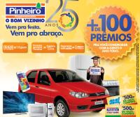 Promoção de 25 anos - Pinheiro Supermercado