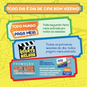 Todo dia é dia de Cine Bom Vizinho (Mobile)